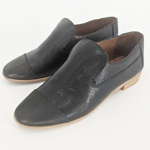 Jeffrey Campbell Leather Bryant Cap Toe Loafer